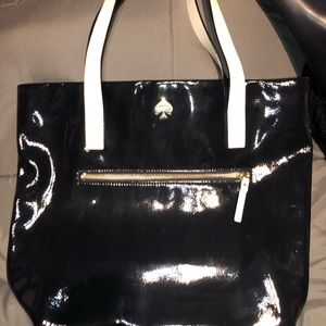 KATE SPADE patten leather bag